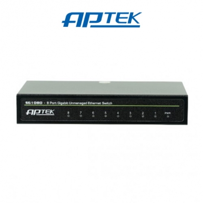Switch Gigabit APTEK SG1080 8 Port