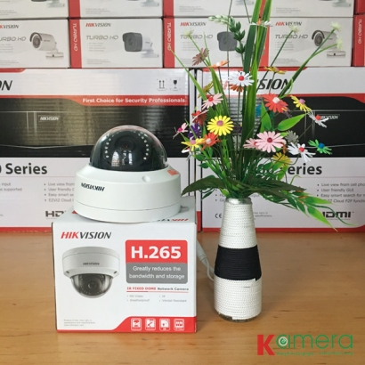 TRỌN BỘ 6 CAMERA IP HIKVISION 2.0MP