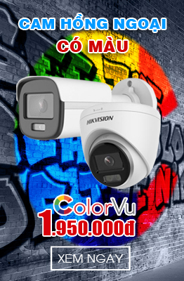 Camera ColorVu HIKVISION