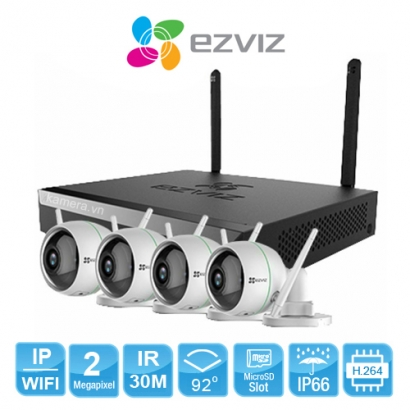 BỘ CAMERA EZVIZ CS-BW3824B0-E40-8