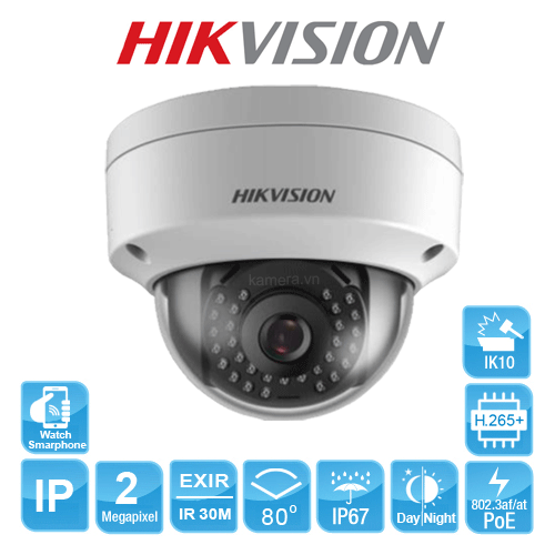 CAMERA IP HIKVISION DS-2CD1123G0-I