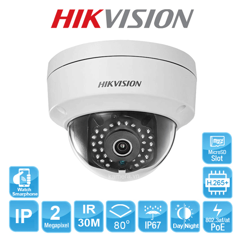 CAMERA IP HIKVISION DS-2CD2121G0-I