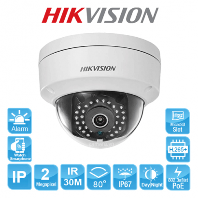 CAMERA IP HIKVISION DS-2CD2121G0-IS
