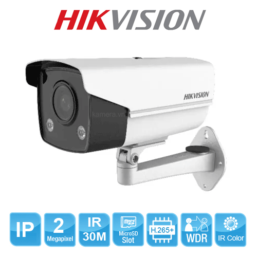 CAMERA IP HIKVISION DS-2CD2T27G3E-L