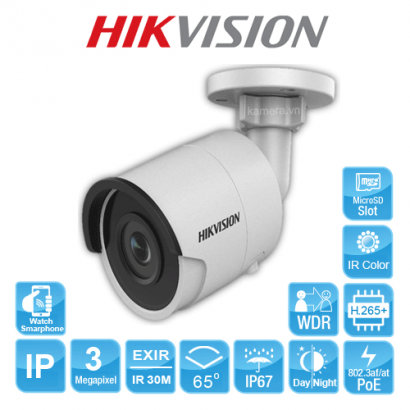 CAMERA IP HIKVISION DS-2CD2045FWD-I