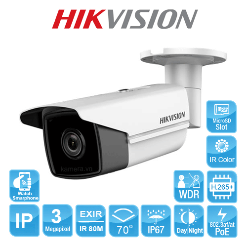 CAMERA IP HIKVISION DS-2CD2T35FWD-I8