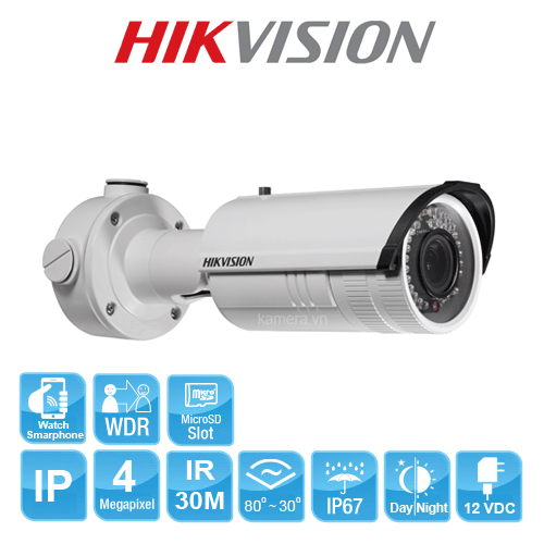 CAMERA IP HIKVISION DS-2CD2642FWD-IZ