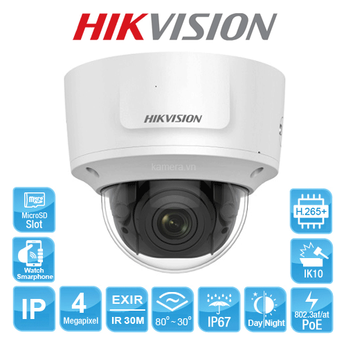 CAMERA IP HIKVISION DS-2CD2743G0-IZS