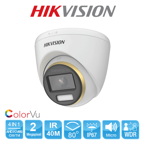 CAMERA HIKVISION DS-2CE72DF3T-FS