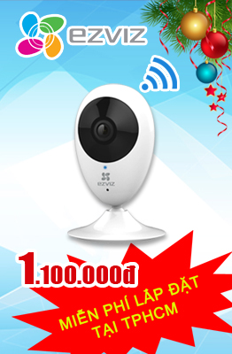 CAMERA WIFI EZVIZ CS-CV206 720P