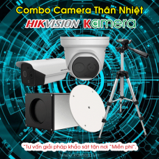 Combo Camera Thân Nhiệt HIKVISION