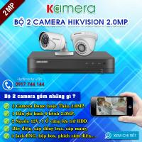 TRỌN BỘ 2 CAMERA HIKVISION 1080P