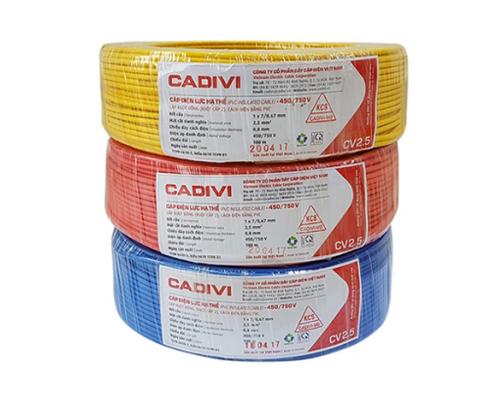 Dây điện Cadivi VCMD 2x16mm